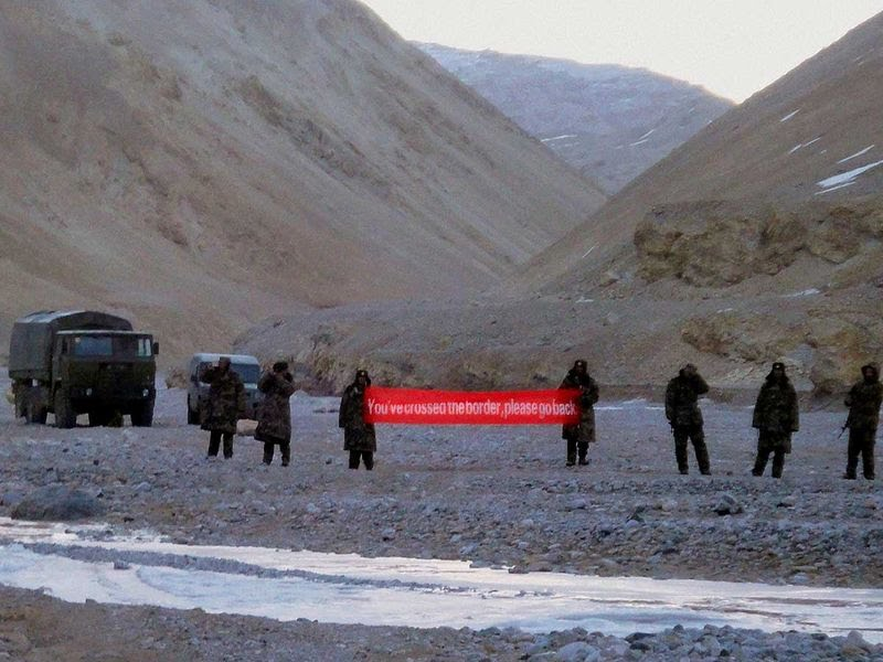 China troops border India clashes Leh Ladakh